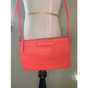 Bright Orange Kate Spade Crossbody Purse